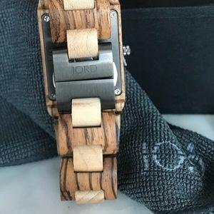 Jord Accessories - Jord Wooden Reece Watch